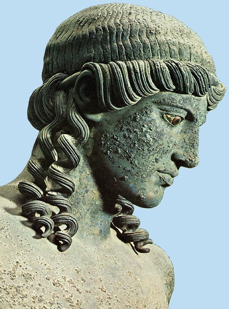 Bronze-Apollo-Head